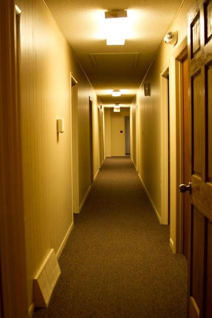 Booth Hallway