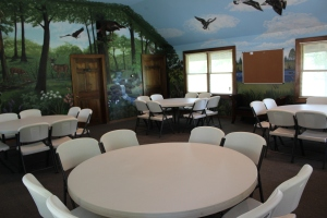Cypress Round Tables from North West